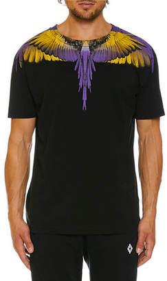 Marcelo Burlon County of Milan Men's Wings Graphic T-Shirt