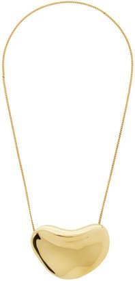 Jil Sander Gold Fluid Necklace