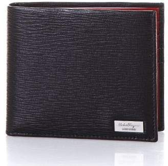Salvatore Ferragamo Cafl Leather Wallet