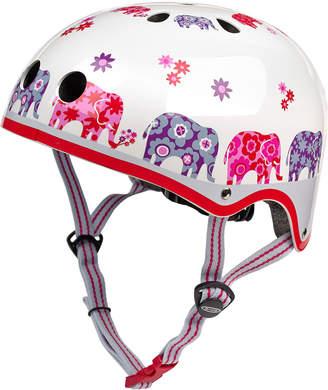 Micro Kickboard Girls' Elephant-Print Helmet