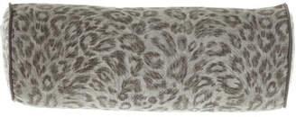 Jane Wilner Designs Bally Leopard Neck Roll Sham