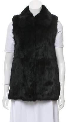 Rebecca Minkoff Collared Fur Vest