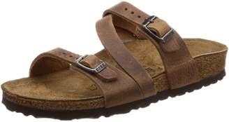 Birkenstock Women's Salina 3-Strap Cork Footbed Sandal-Narrow 36 N EU