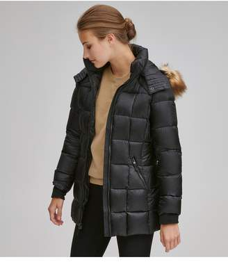 Andrew Marc Maddy Matte Down Puffer Coat