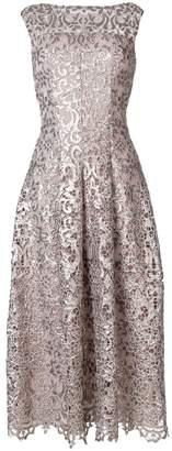 Talbot Runhof paillette-embellished dress