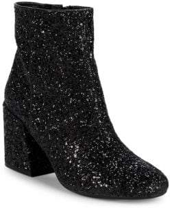 Kenneth Cole Randii Glitter Booties