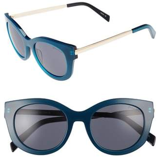 Draper James 53mm Modified Cat Eye Sunglasses