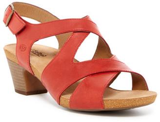 Josef Seibel Ruth 15 Sandal $140 thestylecure.com