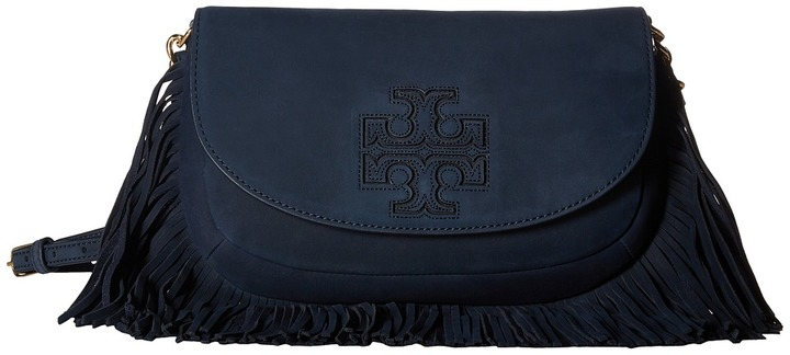 Tory Burch Tory Burch Harper Fringe Mini Crossbody