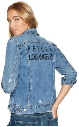 Lucky Brand Tomboy Trucker Jacket Women's Coat