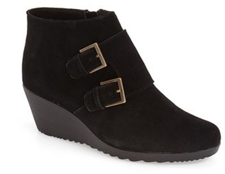 Women's Munro 'Drew' Water Resistant Wedge Bootie $224.95 thestylecure.com