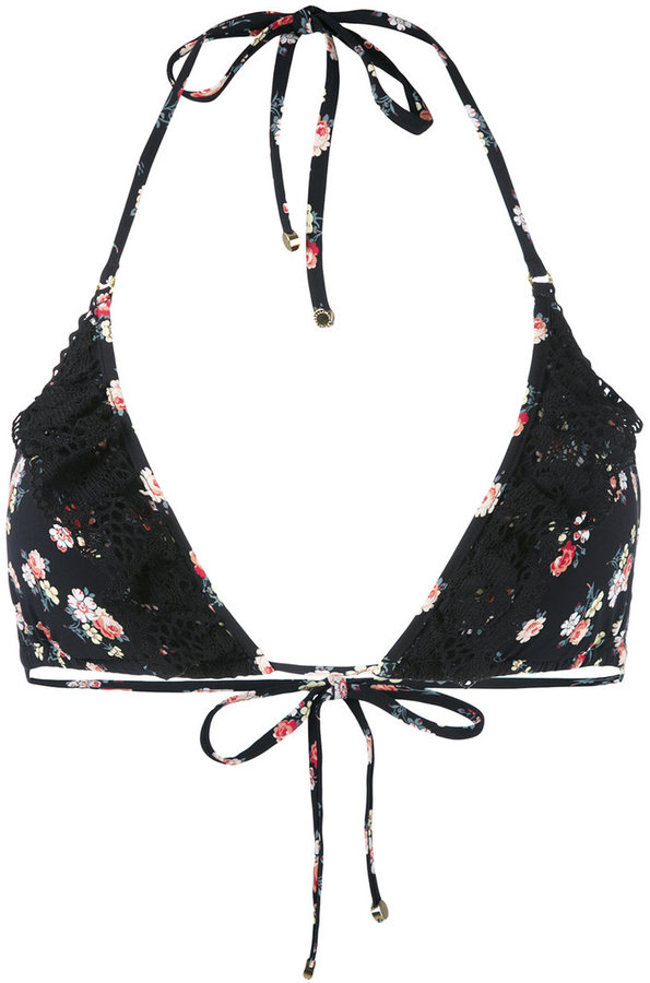 Stella McCartney Vintage Floral bikini top