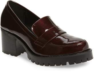 Jane and the Shoe Leighton Platform Loafer