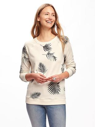 Relaxed Vintage Crew-Neck Pullover for Women $26.94 thestylecure.com