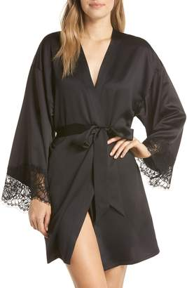 ANN SUMMERS Mariella Satin Short Robe