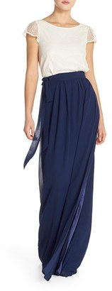 Women's Ceremony By Joanna August 'Sonya' Lace Cap Sleeve Top $165 thestylecure.com