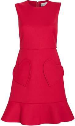 RED Valentino Heart Pocket Shift Dress