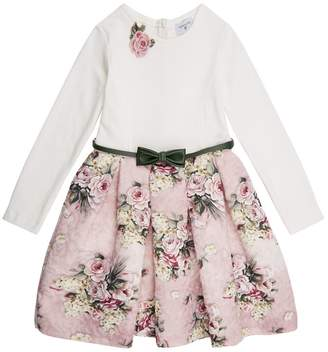 MonnaLisa Floral Pleated Dress