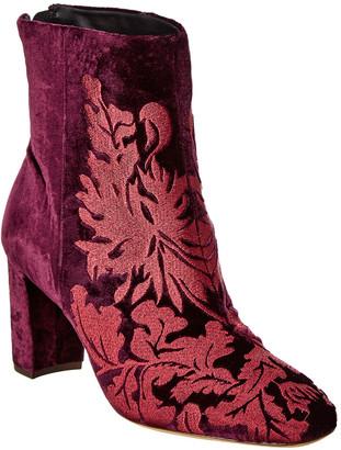 Alexandre Birman Regina 70 Velvet Boot
