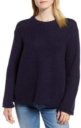 Velvet by Graham & Spencer Wool Alpaca Blend Crewneck Sweater