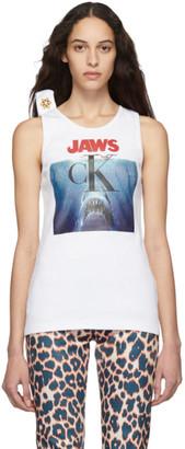 Calvin Klein White Jaws Tank Top