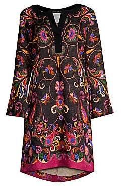 Etro Women's Paisley Kaftan Tunic Dress