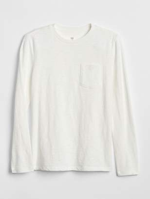 Gap Pocket Long Sleeve T-Shirt