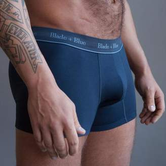 Blade + Blue Navy Blue Trunk Underwear