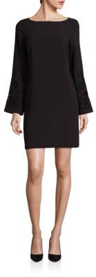 Laundry by Shelli Segal Embellished Shift Dress $325 thestylecure.com