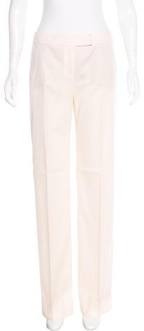 ValentinoValentino Virgin Wool Wide-Leg Pants w/ Tags