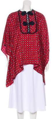 Andrew Gn Oversize Printed Top