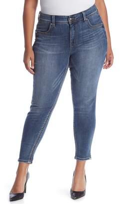 Melissa McCarthy Skinny Pencil Jeans (Plus Size)