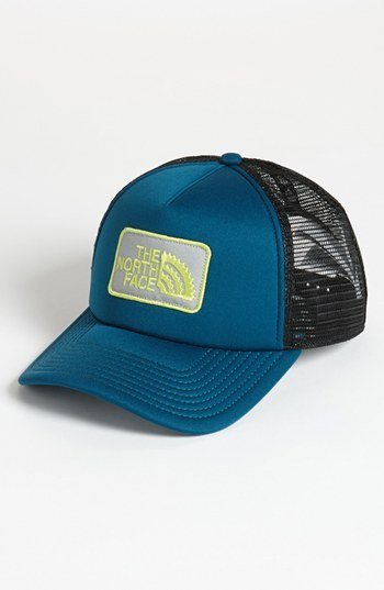 The North Face 'Chain Ring' Trucker Hat Shark Blue One Size