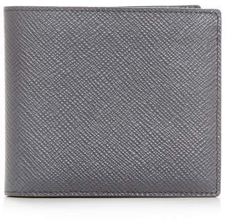 Smythson Leather Bi-Fold Wallet