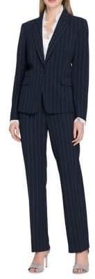 Tahari Arthur S. Levine Petite Pinstriped Pant Suit