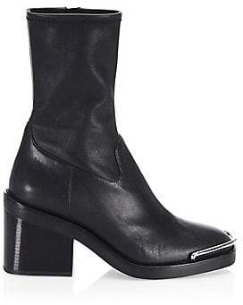 Alexander Wang Women's Hailey Leather Booties