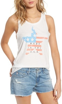 Women's Junk Food Made In The Usa Graphic Tank $36 thestylecure.com