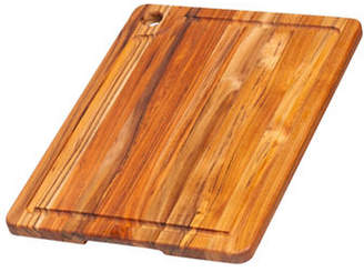 "Proteak TEAKHAUS BY Rectangle Edge 16"" Grain Wood Cutting Board"