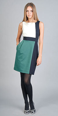 Colorblock Office Dresses from Laundry by Shelli Segal