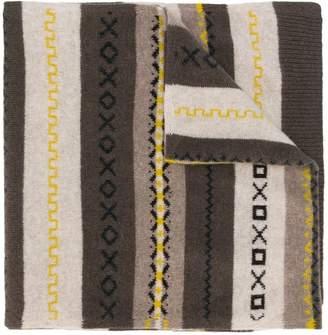 Pringle Fair Isle pattern scarf