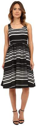 Donna Morgan Embroidered Organza Midi Tank Dress Women's Dress