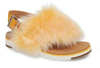UGG Holly Genuine Shearling Sandal