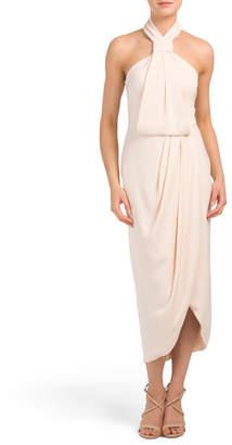 Shona Joy Australian Designed Knot Draped Dress