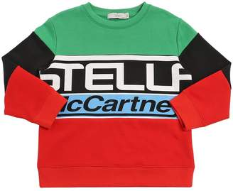 Stella McCartney Logo Printed Cotton Sweatshirt