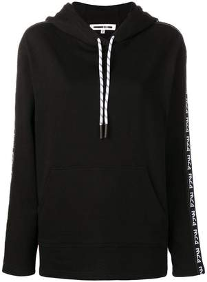 McQ side-logo hooded sweatshirt