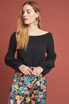 Maeve Octavia Off-The-Shoulder Blouse