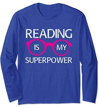 Funny Book Lover Long Sleeve Shirt for Women