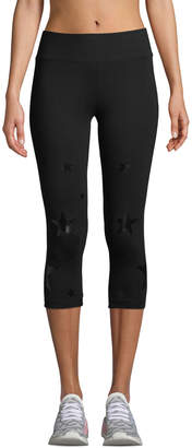 Marc Ny Performance Star-Print Capri Leggings