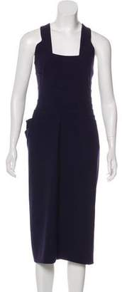 Gianni Versace Wool Midi Dress