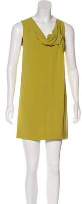 Roland Mouret Asymmetrical Crepe Dress